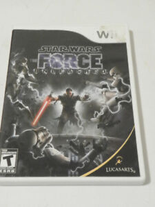 WII Game STAR WARS FORCE UNLEASHED