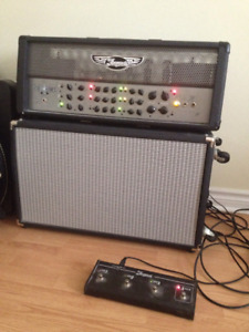 Traynor 100 custom special head with 2x12 cab