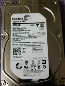 Seagate Desktop HDD 4000GB/4TB
