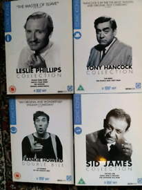 Comic Icon DVDs - 4 Collections
