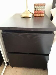 Two 2 drawer chest dresser (lockers)