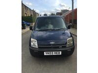 2003 ford transit connect in blue