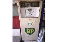 VINTAGE BP PETROL PUMP