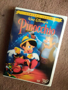 Disney's Pinocchio Limited Issue DVD - 1940