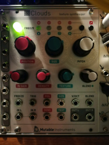 Mutable Instruments Clouds Eurorack Module