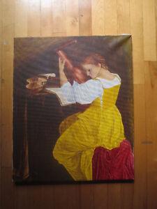 peinture sur toile, ancienne West Island Greater Montréal image 5