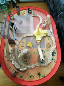 $25 cars train table