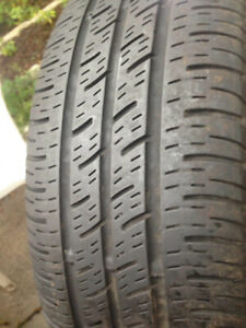 2 Continental Summer tires 185-65-15