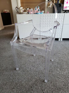 Ghost dining armchairs