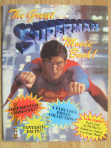 THE GREAT SUPERMAN MOVIE BOOK - 1978