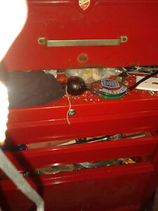 Tool Chest filled with tools.