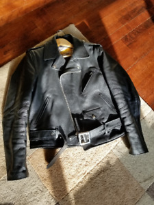 Schott's One Star Perfecto Leather Motorcycle Jacket (Genuine)