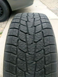 205/55R16 snow tires and wheels (VW bolt pattern)