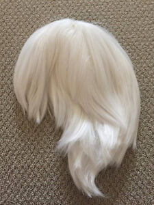 Short White Cosplay Wig -  New, Never Used !