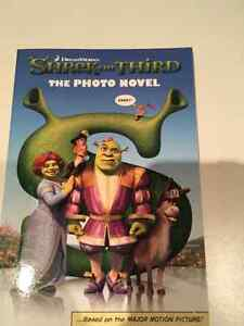 New Shrek the third novel