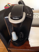 Black Keurig coffee maker