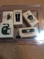 Stampin Up Stamp Set- Patterned Occasions