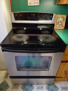 Whirlpool Stainless Stove Oven FOR SALE!!  $500