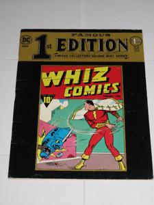 DC Famous 1st Editions Whiz Comics#1 comic book