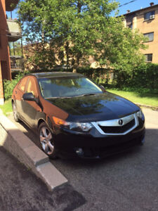 2009 Acura TSX w/Tech Pkg Sedan_Black