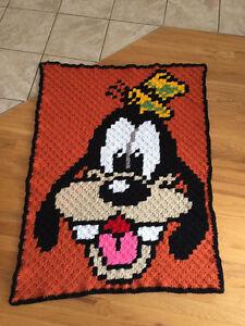 Jeté Goofy crochet