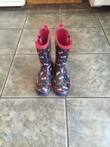 Girls rain boots Size:2
