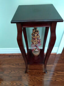 Bombay Accent Table/Plant Stand