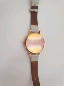 Oliver Burton, Rose Gold Watch - £30