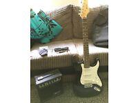 Guitar and Amp Set