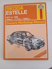 Skoda Estelle Manual