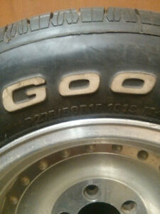 One full set. Tires and wheels $800 firm