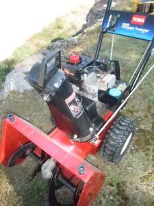 "Toro 522 power throw electric start snowblower 22"""