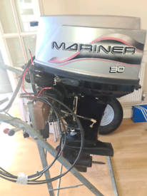 30hp mariner outboard with remotes short shaft electric start