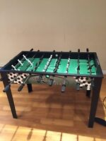 Soccer table up to four players