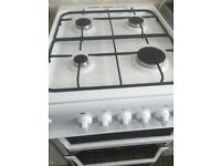 Gas cooker indesit seperate grill and oven