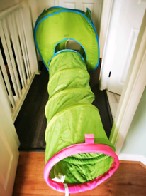 Children tent and tunnel
