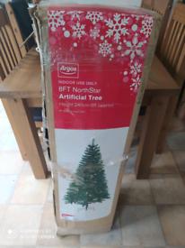 8ft 240cm Christmas Tree from Argos