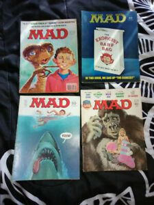 Mad magazine collection.