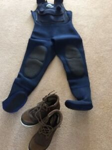 Ladies wet suit and boots