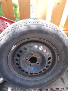 215/70R15  tire on rim..good condition