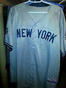 Yankees 42 Mariano Rivera Grey Jersey