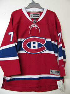 MONTREAL CANADIENS SUBBAN ADULT /YOUTH OFFICIAL JERSEY NWT