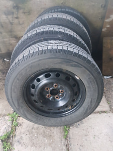 Winter tires 215/70/16 **NEGO**
