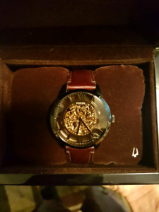 Fossil Townsman Gold&Black Mechanical Watch