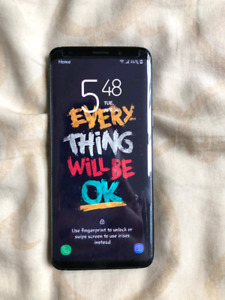 Samsung S9 64gb used only 25 days .(want to buy an iphone )