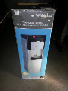 WHIRLPOOL WATER COOLER (STAINLESS)