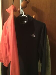 Ladies small North face fleece jackets $20 Windsor Region Ontario image 1