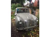 BABY Austin (1955) tax and m.o.t exempt (black plate)