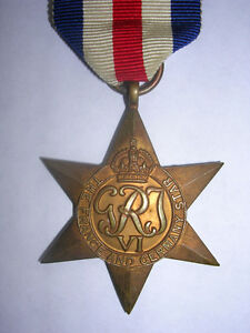 MEDAL France & Germany Star