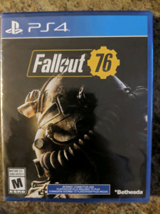 Fallout 76 brand new sealed for PS4